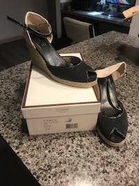 Coach shoes size 10 med slightly used Weslaco, 78596