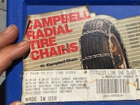 Campbell Radial Tire Chains box Newton, 28658