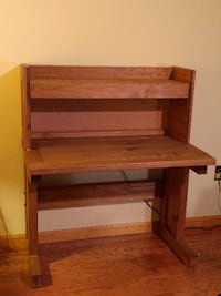 Desk with Study Carrel Top Stroudsburg
