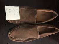 pair of brown Bostonian suede loafers Stoneham, 02180