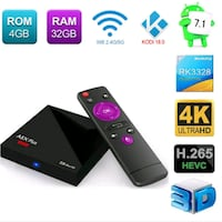 A5X MAX ANDROID TV BOX 4 GB RAM Istanbul