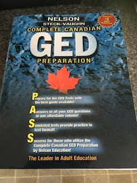GED Preparation book Edmonton, T5M
