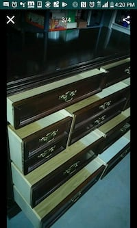 black and gray wooden cabinet Detroit, 48235