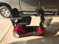 red and black mobility scooter Wichita, 67235