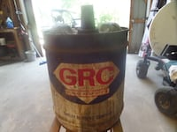 vintage GRC can.   CLARKSVILLE