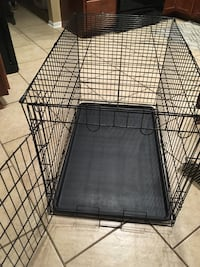 Dog crate with liner (2' x 2' x3') Columbia, 21046