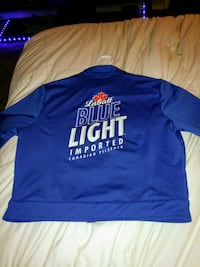 Womens labatt blue jacket size