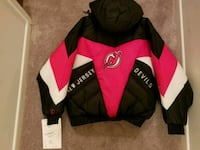 New jersey devils black and red jacket with tags  Kearny, 07032