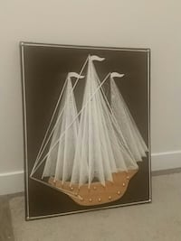 Boat wall hanging
