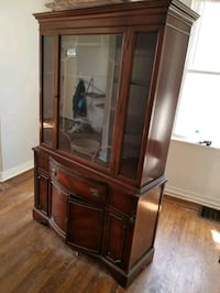 Mahogany China Cabinet Baltimore, 21212