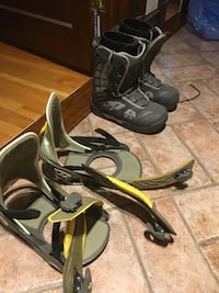 New boots size 10 and fixes Montréal, H3S 1H3
