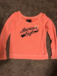 Peach American Eagle Sweatshirt