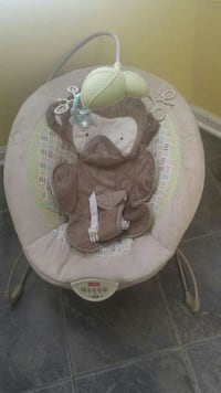 brown and tan Fisher-Price monkey bouncer Chesapeake, 23325