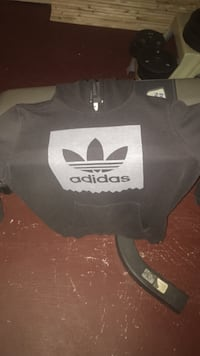 Brown adidas pull-over hoodie jacket Richmond Hill, L4S