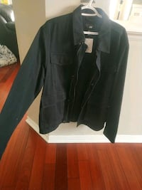 H&M mens shirt jacket in size L