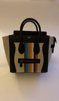 Celine canvas tote bag