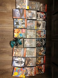 PS2 Games and controller