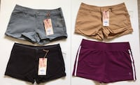 Four shorts for girls in sizes 3, 4 and 5 San Jose, 95129