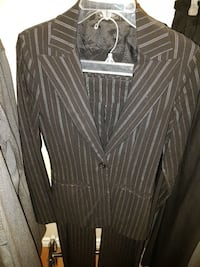 Le Chateau Ladies pinstripe suit