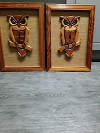Gorgeous wooden owl pics made by a prisoner at Angola Prison... Westwego, 70094
