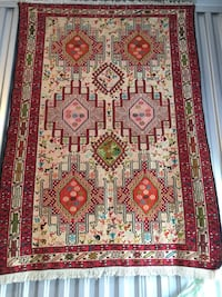 100% Silk Handmade Persian Tapestry 3x5 Rockville, 20852