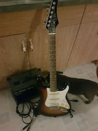 Electric Guitar, Amp, and Stand Edmonton, T5S 1T5