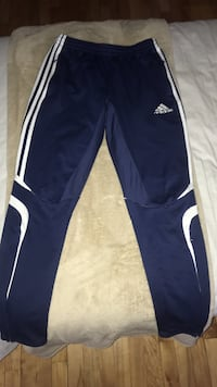 Blue and white adidas pants Montréal, H1S 1C3