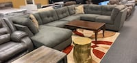 Top quality sectional with chaise accent pillows included  Jacksonville, 32246