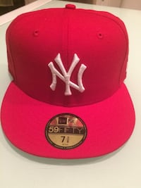 Casquette new york yankees rouge