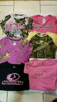 Women's Mossy Oak Shirts Size M and L Colorado Springs, 80909