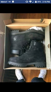 pair of black leather boots Wichita, 67208