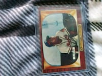 1955 bowman hank aaron Charleston