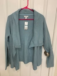 Charter Club cardigan (size large-NEW)