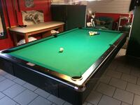 green and brown pool table 1027 mi