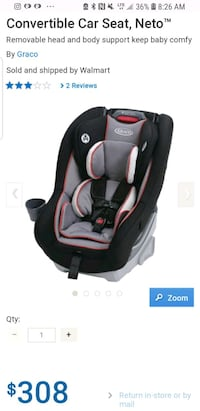 baby's black and gray car seat Vaughan, L4L 1A6