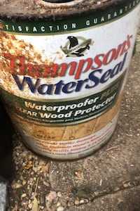 Thompson's water seal waterproofer )$4  for 4 gallons. or best offer Washington, 20017