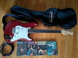 Fretlight electric guitar (complete set)