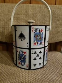 Playing Cards Ice Bucket..never been used