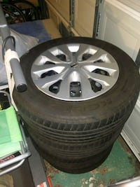 Nissan steel wheels rims and tires  2261 mi