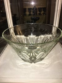 clear glass bowl with lid Hesperia, 92345