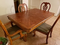 Beautiful wooden table set San Jacinto, 92582