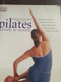 Pilates body in motion book. New. Priced at $15 Mineola, 11501