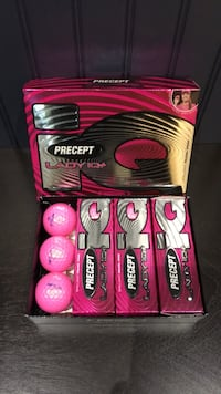 Brilliant pearl pink precept LadyiQ+ set of golf balls  Mississauga, L5M 5E2