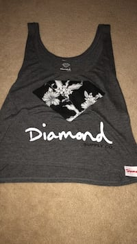 black and white floral tank top 159 mi