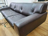 Custom couch extra long.  Thick gauge retail $6200 Calgary, T2M 3W4