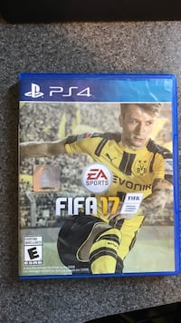 FIFA 17 PS4 game case Thunder Bay, P7B