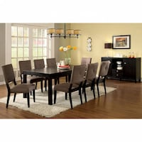 BAY SIDE I DINING SETS 6PC (TABLE + 4 SIDE CHAIRS + BENCH)  - Brand New - Free Home Delivery SF bay area Fremont