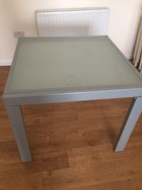 square gray wooden coffee table Wembley, HA9 7HE