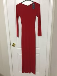 Women's Red GUESS Gown Markham, L6E 1K2