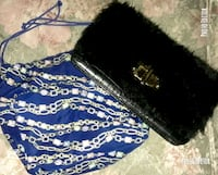 Furry Aldo Bag + Blue Patterned Hobo Bag Winnipeg, R3C 1M9
